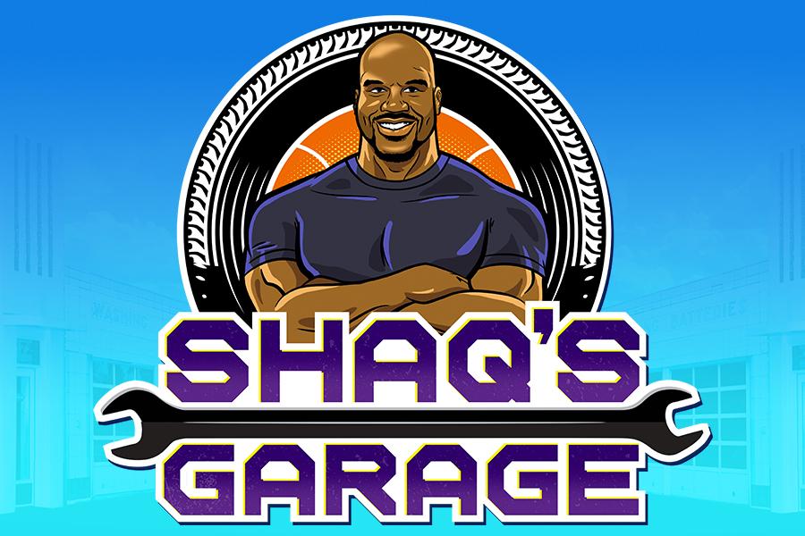 Coming Soon to Kartoon Channel! – Shaq's Garage