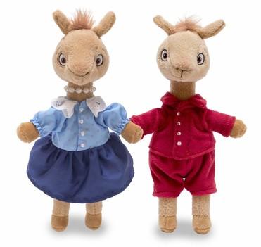 Llama Llama & Mama Llama Set of 2 Talking Plush