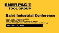 Baird Industrial Conference Presentation