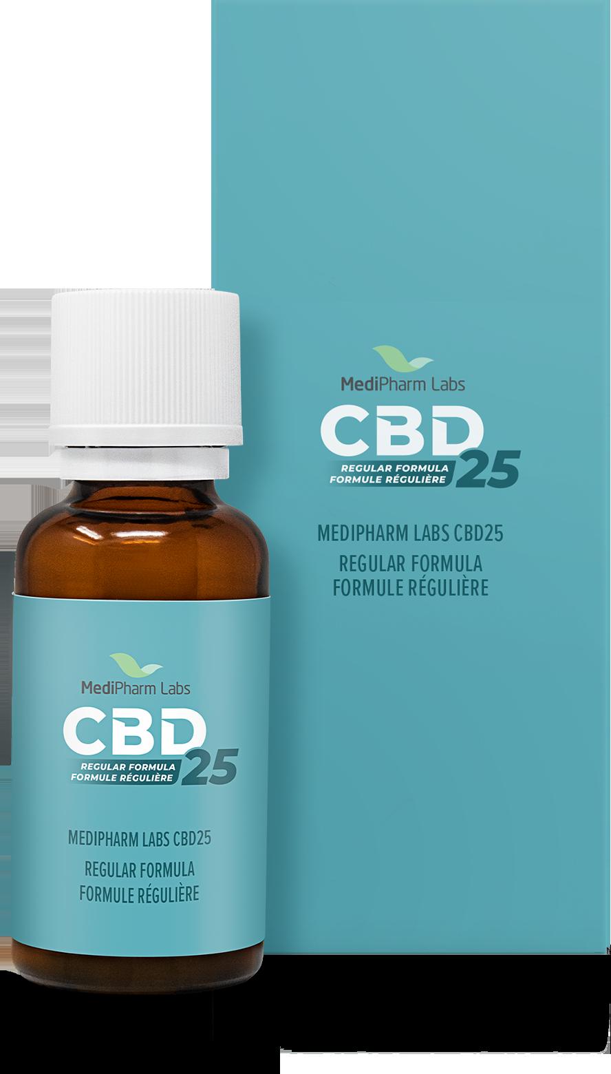 CBD25 Regular Formula