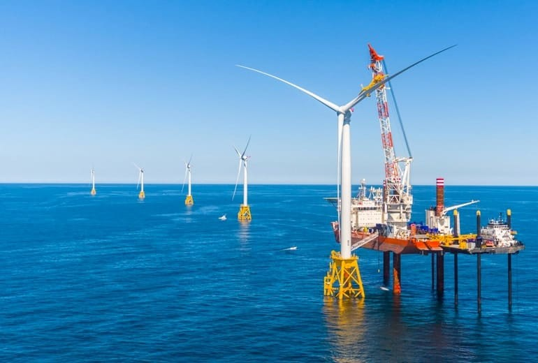 first-offshore-wind-project