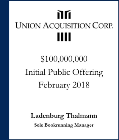 Union Acquisition Corp.