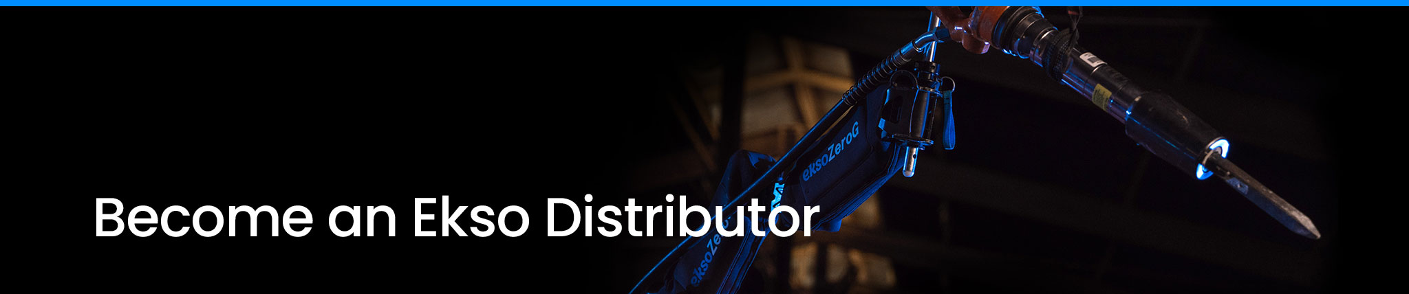 Become an Ekso Distributer.