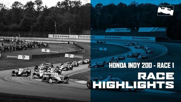 2020 Honda Indy 200 at Mid-Ohio Race 1 Highlights
