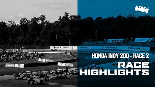 2020 Honda Indy 200 at Mid-Ohio Race 2 Highlights
