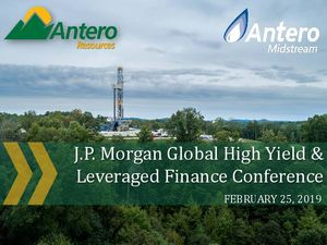 JP Morgan Global High Yield Conference