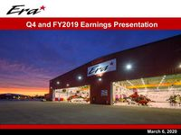 2019 Q4 and Full Year Earnings Presentation