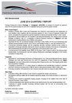 June 2014 Quarterly Report