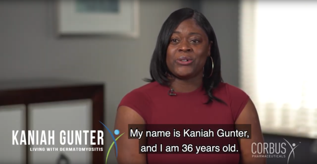 Kaniah explains what dermatomyositis feels like to her and shares her experience of being diagnosed as a young mother.