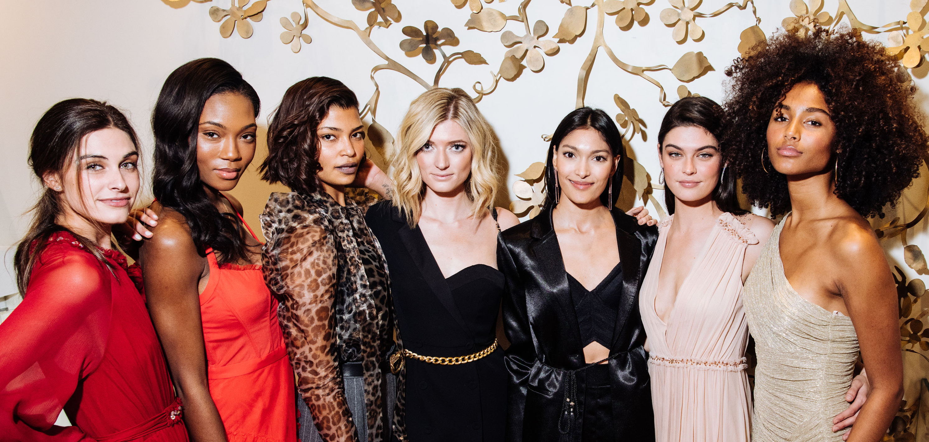INSIDE BCBGMAXAZRIA X THE DAILY FRONT ROW HOLIDAY CELEBRATION