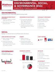 ESG Fact Sheet