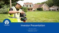 Investor Presentation - August 2020