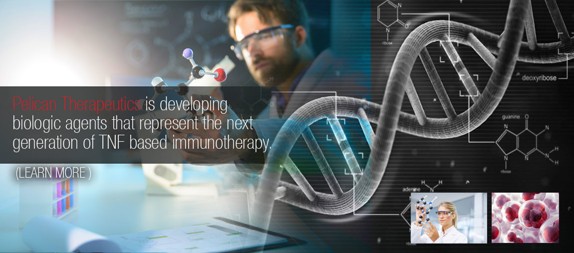 Pelican Therapeutics is developing biologic agents that represent the next generation of TNF based immunotherapy.