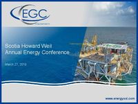 Scotia Howard Weil Annual Energy Conference