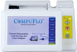 Turn on the CompuFlo® instrument.