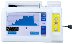 Epidural catheter is verified within 5 seconds on the CompuWave Display.