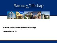 JMP Securities Investor Meetings Presentation