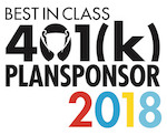 Learn more at https://www.plansponsor.com/awards/2018-best-class-401k-plans/?pid=104786