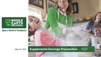 1Q21 Supplemental Earnings Presentation