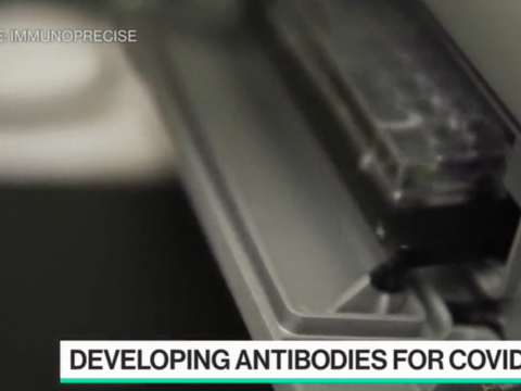 ImmunoPrecise on Bloomberg Technology