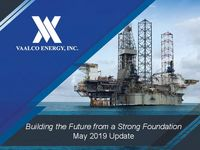 May 2019 Company Update