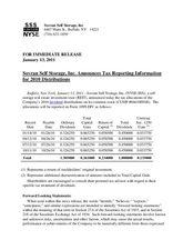 2010 Dividend Tax Treatment
