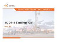 Q4 2018 Earnings Release Presentation