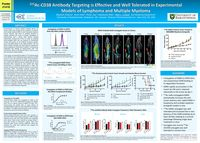 <sup>225</sup>Ac-CD38 Antibody Targeting is Effective and Well Tolerated in Experimental Models of Lymphoma and Multiple Myeloma