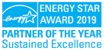 Energy Stars 2019 - Partner of the year Sustained Excellence