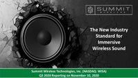Summit Wireless Q320 Update Presentation