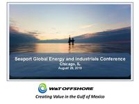 Seaport Global Conference Presentation