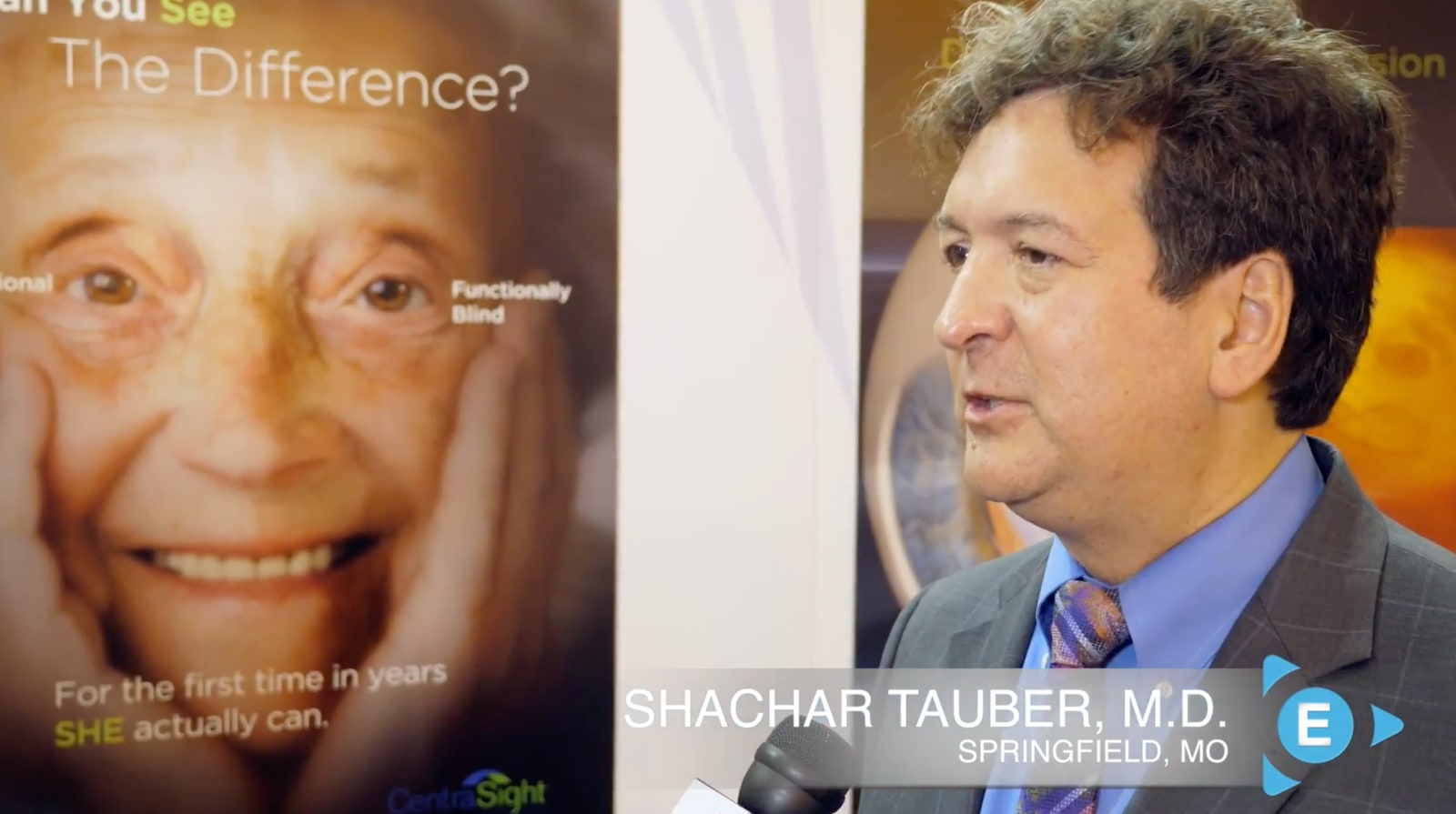 Dr. Shachar Tauber, M.D., Discusses how Caregivers Benefit from the Telescope Implant Procedure