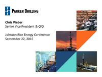 2016 Johnson Rice Energy Conference Presentation