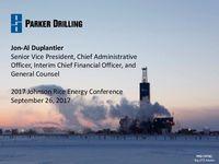 2017 Johnson Rice Energy Conference Presentation