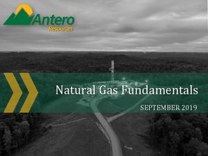 Natural Gas Fundamentals