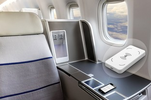 Astronics AES' New Wireless Charging Module Adopted for Integration by Aircraft Seat Manufacturers