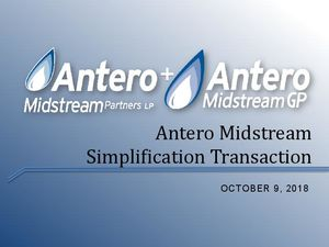 AM/AMGP Conference Call