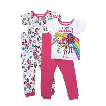 Rainbow RangersToddler Girls' Pajama Set