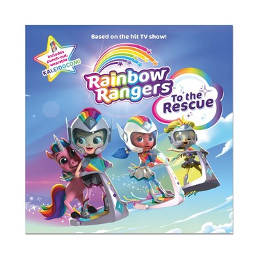 Rainbow Rangers Book:To The Rescue