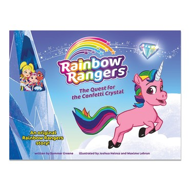 Rainbow Rangers Book:The Quest for the Confetti Crystal