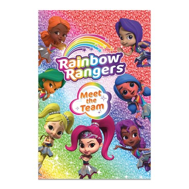 Rainbow Rangers Book:Meet The Team