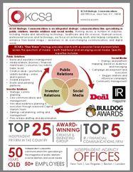 Media & Advertising Tech One Sheet