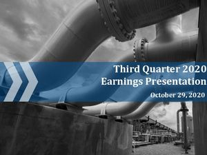 Third Quarter 2020 Earnings Call