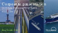 Tellurian to present at Credit Suisse