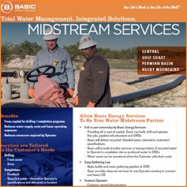Midstream Services Flyer