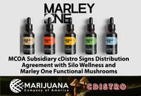 MCOA SubsidiarycDistroSignsDistributionAgreementwith Silo Wellness andMarley One Functional Mushrooms