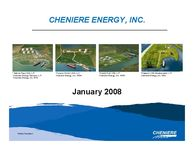 Corporate Presentation January 2008
