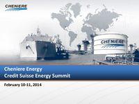 Credit Suisse Global Energy Summit Presentation