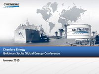 Goldman Sachs Global Energy Conference Presentation