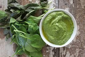 Spinach-Basil Pesto Dressing